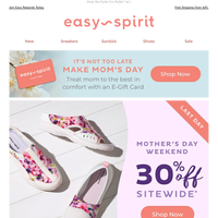 Happy Mother's Day! Enjoy 30% OFF Sitewide