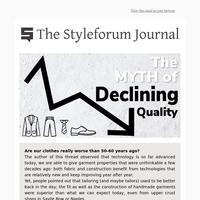 The Myth of Declining Quality 📉