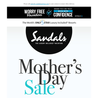 She Deserves the Best - Celebrate with Our Mother's Day Sale