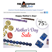 Final DAY: Mother's Day Sale