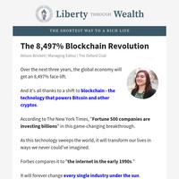 Blockchain Market Growing 8,497%... in Three Years???