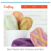 Best Pastel Yarn Choices and Yarn Projects for Spring