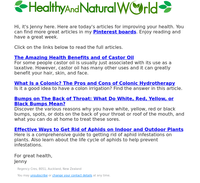Castor Oil Uses & Benefits, Colonic Hydrotherapy and More