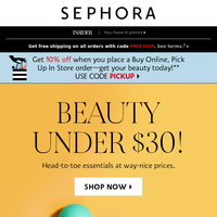 OMG! Beauty under $30 💸💸