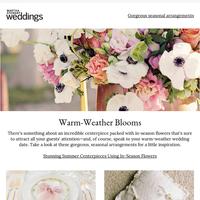 Stunning Summer Centerpieces Using In-Season Flowers