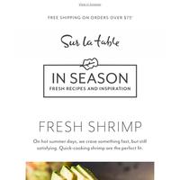 🍤 Our summer shrimp recipes are sort of a big deal.