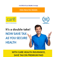 Congratulations! Affordable Insurance for Coronavirus   Upto INR 1 CR Health Coverage