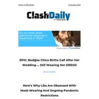 EPIC: Bad@ss Chica Births Calf After Her Wedding ... Still Wearing Her DRESS!