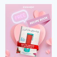 Enjoy a FREE recipe book