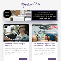 WIN A Scenic Seaplane Flight And Seafood Feast | Are Your Kids The Centre Of Your World? BIG MISTAKE! | My Nanna Hates My Baby's Name | Banana Chocolate Chip Blondies | Help! I'm Going Bald! | Mini Sticky Date Puddings