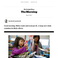 The Morning: The power of pre-K