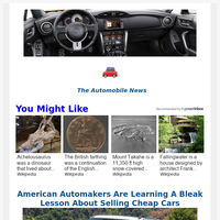 Hey, Your Top Automobile News for May  10, 2021