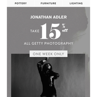 One Week Only: 15% Off All Getty Photography