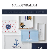 Summer Is Served: Our Favorite NEW Trays & Monogram Designs