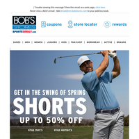 Shorts  Up to 50% OFF
