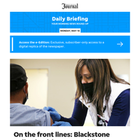 Daily Briefing: On the front lines: Blackstone Valley health center soldiers through the pandemic