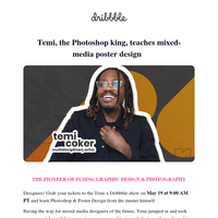 🍎 Apple & Peloton designer Temi Coker teaches Photoshop