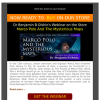 ✨ NOW on the Store: Marco Polo And The Mysterious Maps