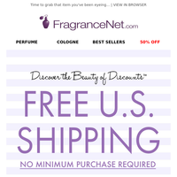 Did someone say FREE SHIPPING?!