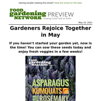 🌱NEW May Issue: Herbs & veggies to plant right now 🍅