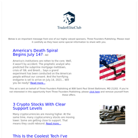 America's Death Spiral Begins July 14?