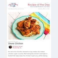 Oven-Baked Shore Chicken