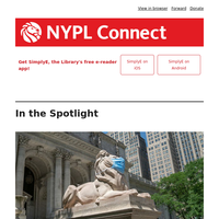 NYPL Connect: Computer reservations and browsing now available at select locations