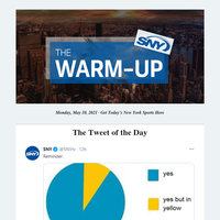 The Warm-Up: Knicks' new perception + deGrom's injury + Yanks walk-off x2