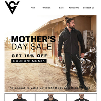 Final Hours: Mother's Day Sale - Get 15% Off Storewide