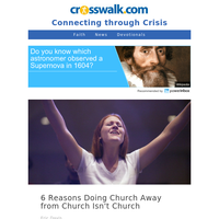 6 Reasons Doing Church Away from Church Isn't Church