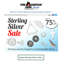 The Sterling Silver SALE is Here!