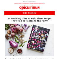 The Epicurious Guide to Wedding Gifts