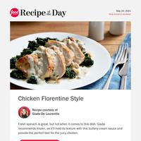 Giada's Fan-Favorite Chicken Florentine Style
