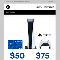 You're invited to apply for the NEW PlayStation Card