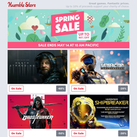 More games added to our Spring Sale! Hood: Outlaws & Legends available now!
