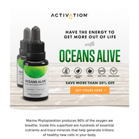 Save up to 30% on Oceans Alive