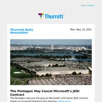 The Pentagon May Cancel Microsoft's JEDI Contract