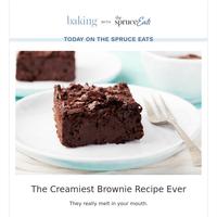 The Creamiest Brownie Recipe Ever
