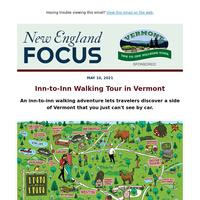 Experience a Vermont Inn to Inn Walking Tour