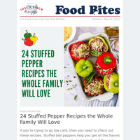 24 Stuffed Pepper Recipes the Whole Family Will Love