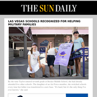 Las Vegas schools recognized for helping military families