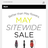 April showers bring May savings.