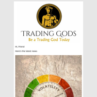 Trading Gods Latest News: VIX Daily Update: Fear Index Rockets Back Towards 20