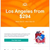 United States travel deals ✈️