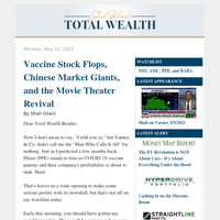The Latest from the Watchlist – Vaccine Stock Flops, Chinese Market Gian ts, and the Movie Theater Revival