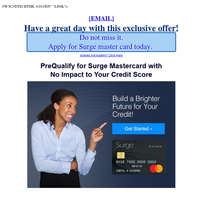 A Mastercard offer for {EMAIL}