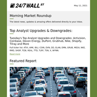 Cathie Wood's ARK Invests Buys; Analysts Bullish on TuSimple Self-Driving Trucks; Most Dangerous Cities for Driving
