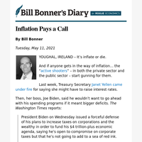 Inflation pays a call
