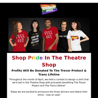 🏳️🌈Shop Pride In The Theater Shop!