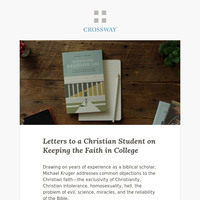 A New Book forStudents on Keeping the Faith in College